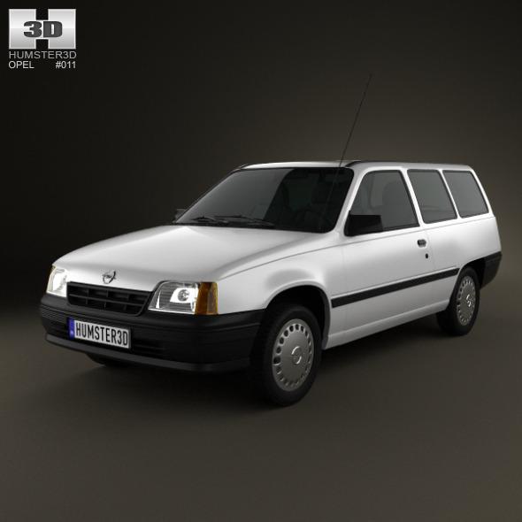 Opel Kadett E Caravan 3-door 1984-1991