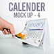 Calender Mock Up Square - GraphicRiver Item for Sale