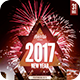 2017 New Year Party Flyer - GraphicRiver Item for Sale