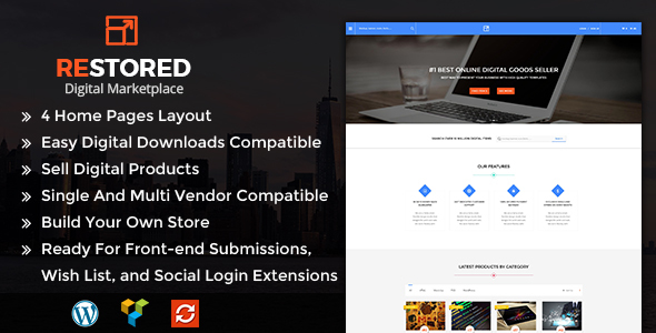 Restored MarketPlace – MarketPlace WordPress Theme