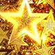 Gold Glitter Stars  - VideoHive Item for Sale