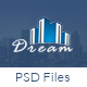 Dream - Single Property Real Estate PSD Template Nulled