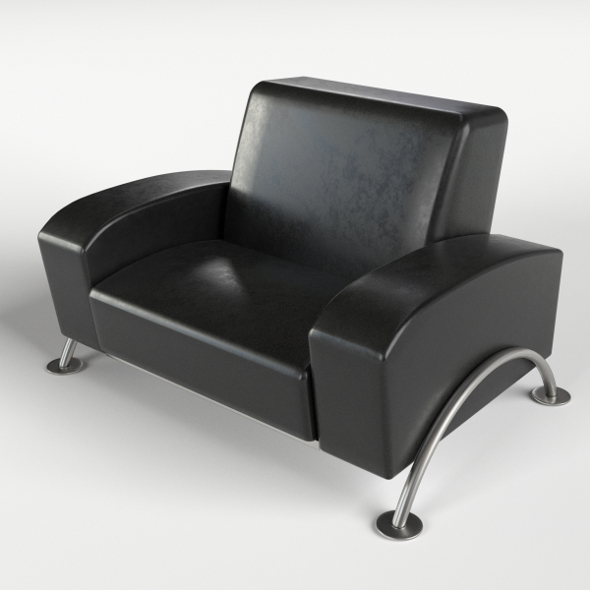 Armchair 3 - 3DOcean Item for Sale