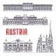 Historic Buildings and Sightseeings of Austria - GraphicRiver Item for Sale