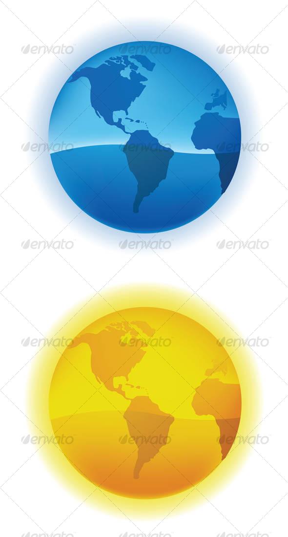 Globe - Miscellaneous Vectors