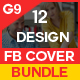 Facebook Cover Bundle - 12 Design - GraphicRiver Item for Sale