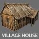 Wooden Village House - 3DOcean Item for Sale