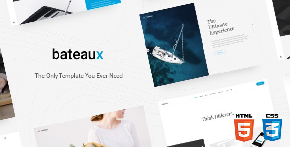 Bateaux – Creative Multi-Purpose HTML Theme
