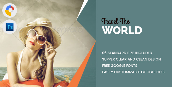 Travel World Banners HTML5 - GWD - CodeCanyon Item for Sale