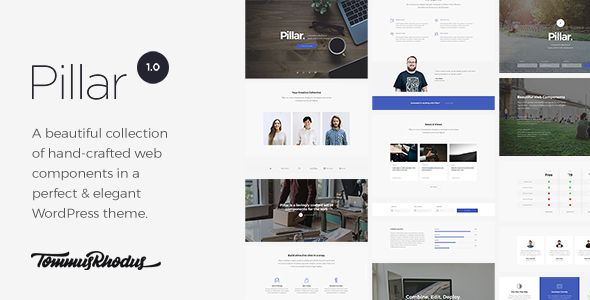 Pillar – Multipurpose Multi-concept Responsive WordPress Theme