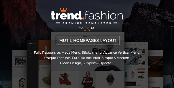 TrendFashion – Multipurpose Responsive Shopify theme