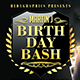 Birthday Bash - Flyer Template - GraphicRiver Item for Sale