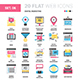 Digital Marketing Flat Web Icons - GraphicRiver Item for Sale