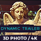 Dynamic 3D Photo Trailer - VideoHive Item for Sale
