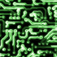 Circuit Board With Electric Signals - VideoHive Item for Sale
