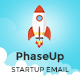 PhaseUp Start-Up E-Newsletter PSD Template - GraphicRiver Item for Sale