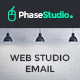 PhaseStudio - Web Studio E-Newsletter PSD Template - GraphicRiver Item for Sale