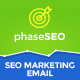 PhaseSEO - SEO Marketing E-Newsletter PSD Template - GraphicRiver Item for Sale
