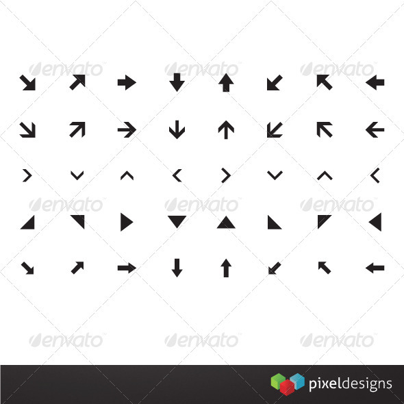40 Basic Arrow Icon - Web Icons