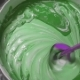 The Process Of Mixing White Paint With a Color Tinge In The Bucket Drill With a Special Nozzle - VideoHive Item for Sale