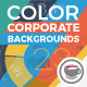 Color Corporate Backgrounds With Abstract Elements Of Infographics - VideoHive Item for Sale