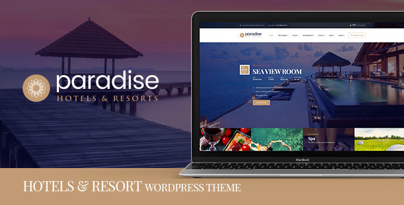 Paradise – Hotels & Resorts Responsive WordPress Theme