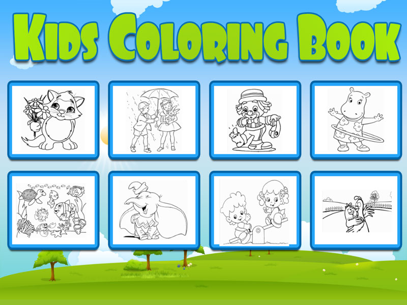 Coloring Book For Kids Html5 Educational Game By Dexterfly