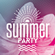 Summer Party | Psd Flyer Template - GraphicRiver Item for Sale