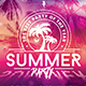 Summer Beach Party | Psd Flyer Template - GraphicRiver Item for Sale