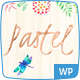 Pastel Floral Art WordPress Blog & Shop - ThemeForest Item for Sale