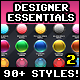 Designer Essentials Ultimate Precious Styles Bundle Vol.2 - GraphicRiver Item for Sale