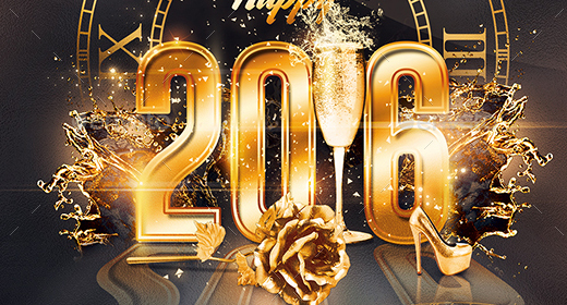 New Year | Nye FlyerTemplates