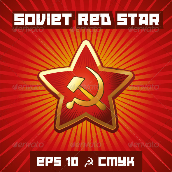 Soviet Red Star - Decorative Vectors