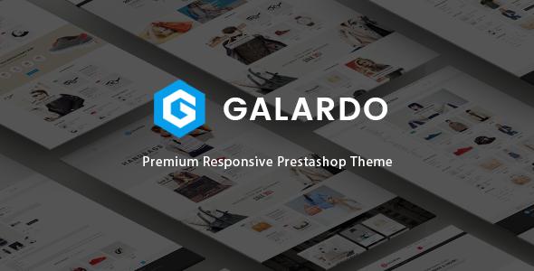 Image of Galardo - Responsive Fashion Prestashop Theme