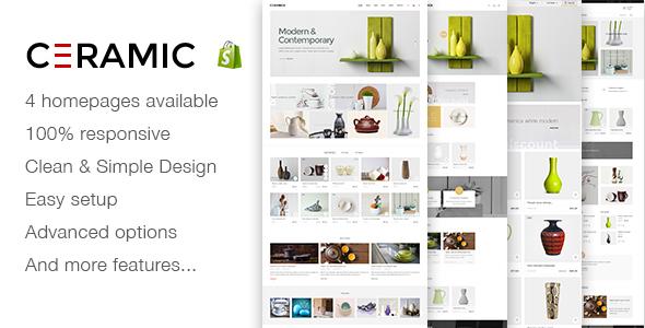 JMS Ceramics – Responsive Shopify Theme