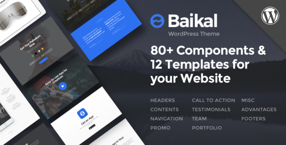 Baikal – Responsive Multi-Purpose WordPress Theme