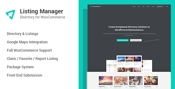 Listing Manager - WordPress Directory Plugin - CodeCanyon Item for Sale