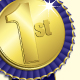1st Place Medal - GraphicRiver Item for Sale
