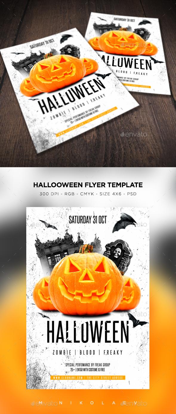 Halloween Flyer V15