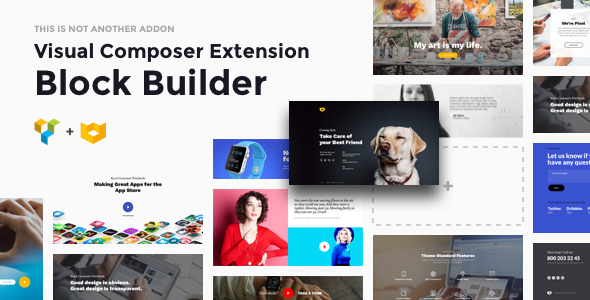 Visual Composer Extension — Block Builder + Addons - CodeCanyon Item for Sale