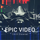 Epic Production Glitch Reel - VideoHive Item for Sale