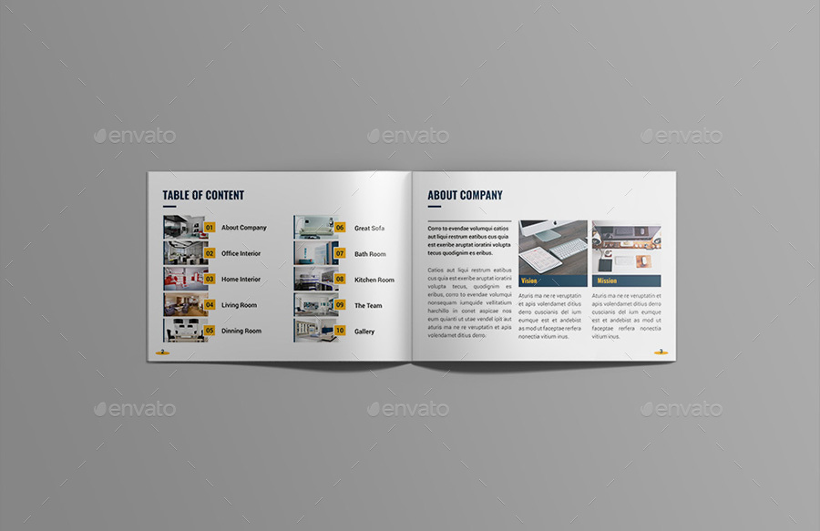 interior design catalog brochuretripleef | graphicriver