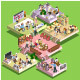 Isometric Office Center - GraphicRiver Item for Sale