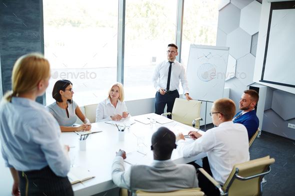 Working seminar - Stock Photo - Images