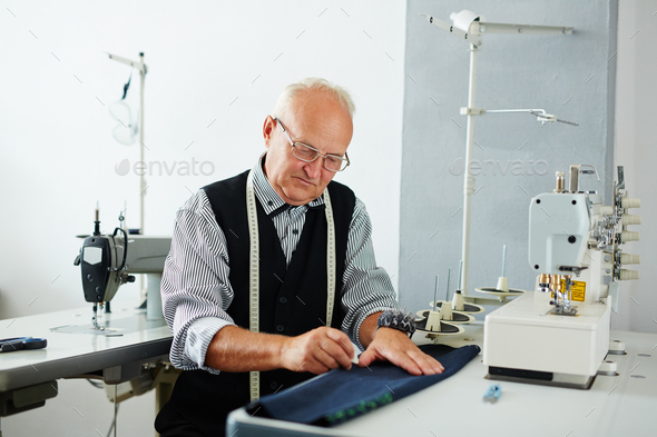 Small tailoring business - Stock Photo - Images
