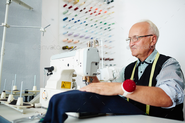 Modern tailor - Stock Photo - Images