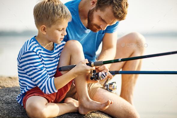 Go fishing - Stock Photo - Images