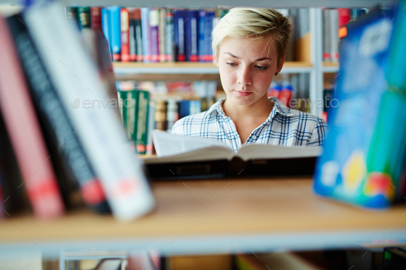 Teenage reader - Stock Photo - Images