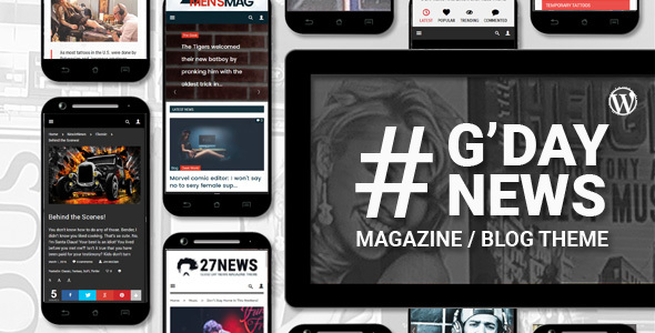 GDN – Magazine Blog & Video Theme