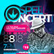 Cosmic Gospel Concert Flyer Template - GraphicRiver Item for Sale